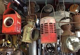 Vintage Lamps Rustic Gallery