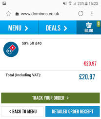 50% Off A £40 Spend @ Dominos - Hotukdeals Online Vouchers For Dominos Cheap Grocery List One Dominos Coupons Delivery Qld American Tradition Cookie Coupon Codes Home Facebook Argos Coupon Code 2018 Terms And Cditions Code Fba02 Free Half Pizza 25 Jun 2014 50 Off Pizzas Pizza Jan Spider Deals Sorry To Interrupt But We Just Want Free Promo Promotion Saxx Underwear Bucs Score Menu Price Monday Malaysia Buy 1 Codes
