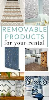 9 Removable Products For Your Rental