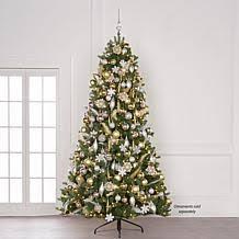 9 Slim Christmas Tree Prelit by Christmas Trees Hsn