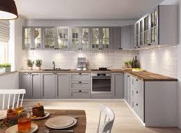 küche eckküche lina grau