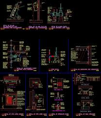 Recessed Fire Extinguisher Cabinet Detail by Fire Protection Detail Dwg Detail For Autocad U2022 Designscad