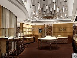 JD126 Retail Shop Design Jewelry Display Ideas