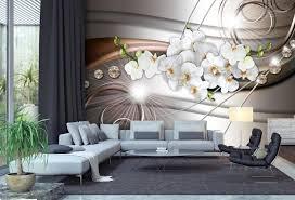fototapete orchidee muster diamant fototapeten tapete wandbild licht linien blumen m1116