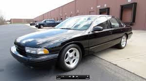 1996 Chevrolet Impala SS Start Up Exhaust and In Depth Review