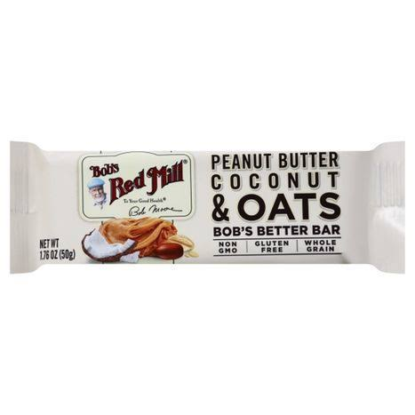 Bobs Red Mill Bobs Bars, Peanut Butter, Coconut & Oats - 1.76 oz