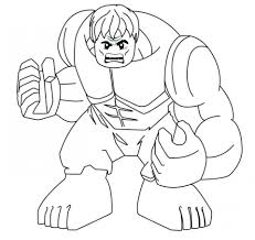 Hulk Coloring Pages Superheroes Printable 57126