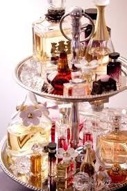 Tiered Tray For Vanity Display Perfumes Cosmetics Jewelry Dressing Table Decorating Ideas Makeup Organization Beauty
