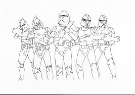 14 Clone Trooper Coloring Pages With
