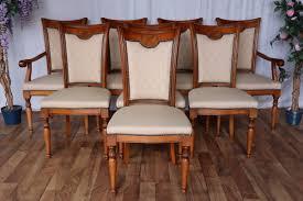 nr 1532e 8 stühle esszimmer kirsche vollmassiv