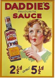 1930 S Daddies Sauce Advertising Poster A3 A2 Print