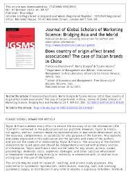 zara si鑒e social does country of origin affect brand associations the of