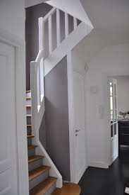 rénovation d une cage d escalier contemporain escalier