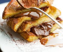 recette cuisine gourmande recette gourmande brioche perdue au chocolat
