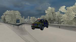 100 Uk Truck Simulator POLICE JEEP UK 122X ETS2 Mods Euro Truck Simulator 2 Mods