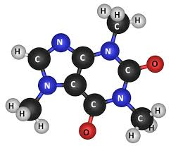 Caffeine MoleculeCaffeine Is A Complicated Molecule Composed Of Many Atoms Bonded To Each Other In Specific Arrangement