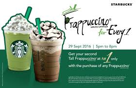 Starbucks RM1 Second Tall Sized Frappuccino Promotion 5PM ... Celebrate Summer With Our Movie Tshirt Bogo Sale Use Star Code Starbucks How To Redeem Your Rewards Starbucksstorecom Promo Code Wwwcarrentalscom Coupon Shayana Shop Cadeau Fete Grand Mere Original Gnc Coupon Free Shipping My Genie Inc Doki Get Free Sakura Coffee Blend Home Depot August Codes Blog One Of My Customers Just Got A Drink Using This Scrap Shoots Down Viral Rumor That Its Giving Away Free Promo 2019 50 Working In I Coffee Crafts For Kids Paper Plates