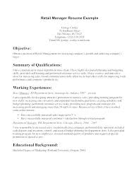 Free Retail Sales Resume Download Cv Template Basic Templates Word