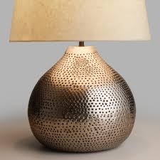 Punched Tin Lamp Shades Uk by Table Top Lamps U0026 Unique Lamp Shades World Market