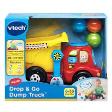VTech® Drop & Go Dump Truck- English Version | Walmart Canada Tonka Classic Dump Truck Big W American Plastic Toys Gigantic Walmartcom Funrise Toy Toughest Mighty New Hess And Loader For 2017 Is Here Toyqueencom Moover Little Earth Nest Wooden Trucks Cars Happy Go Ducky Yellow Toy Dump Truck Isolated On White Background Stock Photo Photos Pictures Getty Images Amazoncom 16 Assorted Colors Metal Kmartnz Bruder Mack Granite Games