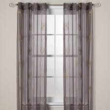 Bed Bath And Beyond Gray Sheer Curtains by Bamboo Bead Jewelry Window Curtain Panel Bed Bath U0026 Beyond For