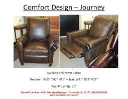 Barnett Furniture recliners