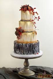 Rustic Autumn Wedding Cake By Nasa Mala Zavrzlama