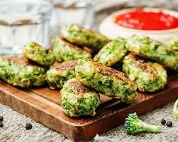 cuisiner le brocolis recette galettes de brocoli facile rapide