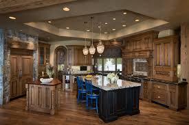 interesting rustic kitchen island lighting