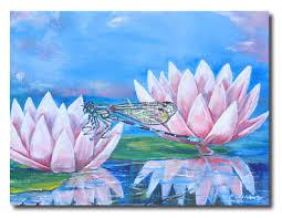 Ron Heagy 3 Panel Dragonfly Canvas Wall Art