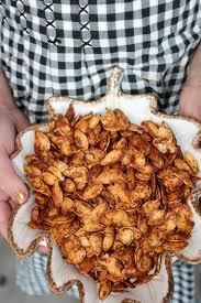 Roasting Pumpkin Seeds In The Oven Cinnamon by Rita Barton The Best Roasted Pumpkin Seeds