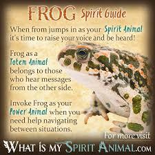 Frog Symbolism Meaning Spirit Totem Power Animal