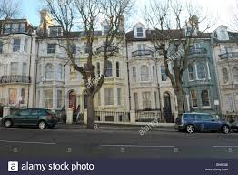 100 Brighton Townhouses Regency Style Townhouses In Stock Photo 27846372