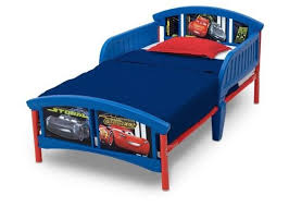 Cars Plastic Toddler Bed CB Furniture