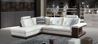 canap d angle en cuir blanc canapé d angle cuir taupe au meilleur prix