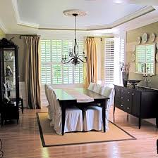 Swing Arm Curtain Rod Walmart by Accessories Likable Formal Dining Room Curtain Ideas Home Design