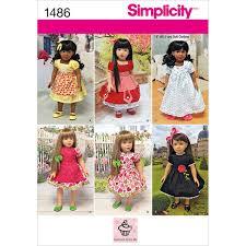 Amazoncom Simplicity Cupcake Cutie Pie Pattern 1486 18