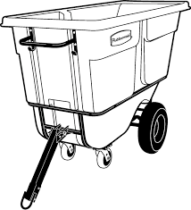 Plastic Tilt Truck - Max. 952.5 Kg | 1026-41 Series - Rubbermaid Rubbermaid Fg102800bla Rectangle Dome Tilt Truck Lid Plastic Black Cart Wheels Trash Cans Rubbermaid 135 Cu Ft Capacity 450 Lb Load Akro Mils 60 Gal Grey Without Tilt Truck Max 2722 Kg 1011 Series Videos Rotomolded By Commercial Rcp1314bla Cleaning Equipment Supplies Refuse Control Debris Removal Carts Trucks In Stock Uline Abandoname Dump 1 2 Cubic Yard 850pound
