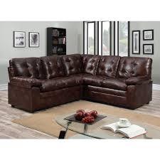 Leather Sectional Sofa Walmart by Buchannan Faux Leather Sectional Sofa Photos Hd Moksedesign