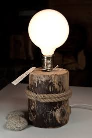 15 One Slice Of Wood Can Create A Desk Lamp Within Minutes
