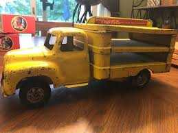 VINTAGE BUDDY L Coca Cola Truck - $25.00 | PicClick Bargain Johns Antiques Buddy L Junior Dump Truck Original Paint Crane Trailer By Company 1989 In Hedge End Die Cast Steel Toy Army Transport C 1940 Chairish Jr Stake Bgage For Sale Sold Antique Toys Sale Items Pepsicola 12 Piece Truck Trailer Figure Set 4906l Nrfb Truckjpg Merrills Auction 1960 Kennel Restored Amateur Youtube 1126327 Troop 5121 Ice Delivery Cottone Auctions 1950s Coca Cola Vintage Air Force Supply 14 Inches Long