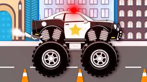 Monster Truck Stunt Chase | Monster Truck Videos For Kids ... Monster Trucks Teaching Children Shapes And Crushing Cars Watch Custom Shop Video For Kids Customize Car Cartoons Kids Fire Videos Lightning Mcqueen Truck Vs Mater Disney For Wash Super Tv School Buses Colors Words The 25 Best Truck Videos Ideas On Pinterest Choses Learn Country Flags Educational Sports Toy Race Youtube Stunts With Police Learning