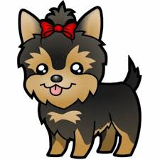 Free Yorkie Clip Art And Coloring Pages