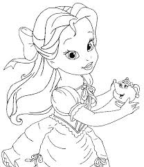 Image Coloring Disney Princess Pages Games About 1000 Ideas