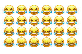 The Most Popular Emoji Is Face With Tears Of Joy Tragicomic Figure Stuck Between Sobbing And Laughing Equally Perfect For Expressing