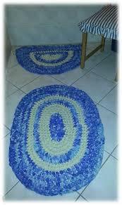 upcycling ausgefallene badezimmer teppich garnitur matte