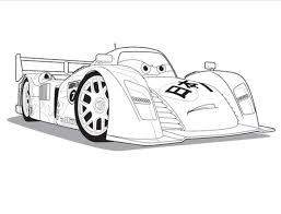 Children Coloring Pages For Kids Cars 2