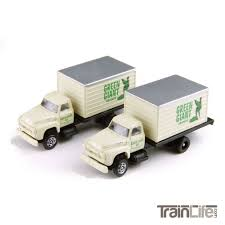 N Scale: 1954 Ford F-700 Delivery Truck - Green Giant - 2 Pack ... Tomytec Nscale Truck Collection Set D Lpg Tanker Gundambuilder N Scale Classic Metal Works 50263 White Wc22 Kraft Finenscalehtml Oxford Diecast 1148 Ntcab002 Scania T Cab Curtainside Ian 54 Ford F700 Delivery Trucks Trainlife Gasoline Tanker Semi Magirus Truck Wiking 1160 Plastic Tender Truckslong Usrapr 484 Northern 1758020 Beer Trucks Athearn 91503c Cseries Cadian 100 Ton N11 Roller Bearing W Semiscale Wheelsets Black 1954 Green Giant 2 Pack 10 Different Ultimate Scale Trucks Bus Kits Most In Orig