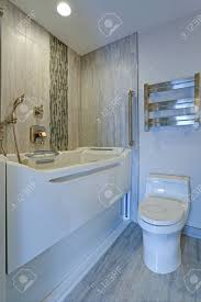 Contemporary Bathroom Design Boasts A Luxury Jacuzzi Walk-in.. Stock ... 30 Cozy Contemporary Bathroom Designs So That The Home Interior Look Modern Bathrooms Things You Need Living Ideas 8 Victorian Plumbing Inspiration 2018 Contemporary Bathrooms Modern Bathroom Ideas 7 Design Innovate Building Solutions For Your Private Heaven Freshecom Decor Bath Faucet Small 35 Cute Ghomedecor Nz Httpsmgviintdmctlnk 44 Popular To Make