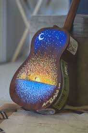 Eddie Vedder No Ceiling Ukulele Chords by 49 Best Painted Guitars Images On Pinterest Painted Guitars